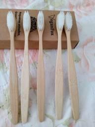 Escova de bambu biodegradáveis