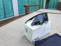 Oakley M Frame Heater 09-100 Preto Lentes Cinza Original