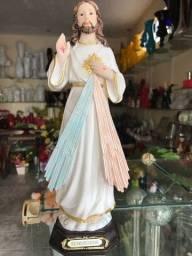 Imagem em resina de Jesus Misericordioso