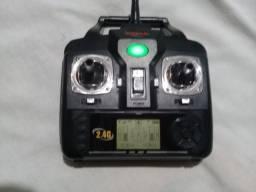 Radio Controle Drone Syma X5 2.4g Usado