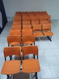 Lote de Cadeiras Longarinas