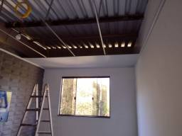 Rebaixamento de PVC e drywall
