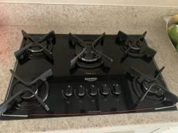 Cooktop 5 Bocas a Gás Acendimento Automático Glass Dako V01 DC5VTZ-PSO SD 300000413