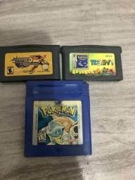 Jogos Game Boy (Pokémon)