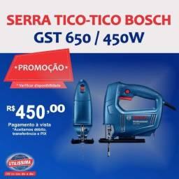 Serra Tico-tico Bosch Gst 650 / 450w