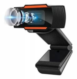 Webcam P/notebook- Pc Câmera Mini Packing 720p Com Microfone