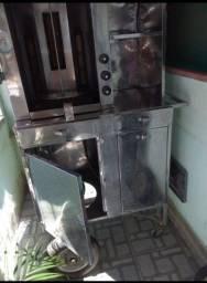 Máquina de lanche churrasco grego