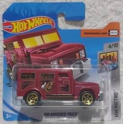 Carrinhos Hot Wheels Armored Truck