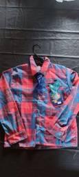 Camisa Xadrez tamanho 6