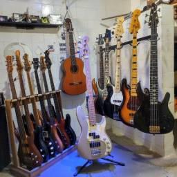 Baixo Fender USA 1997 Precision Plus Deluxe zerado