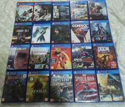 Kit 20 Jogos Playstation 4
