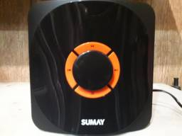 Caixa de Som Multimídia 2.1 Bluetooth Sumay SM-CS3313B semi-novo