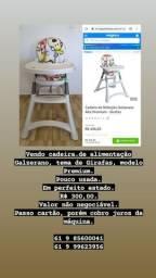 Vendo cadeira de alimentação Galzerano Premium