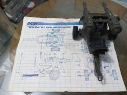 Twin Battle Gun G.i.Joe/Comandos em Ação/Cobra - Epic Toys Brasil