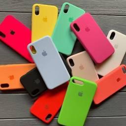 Capa de silicone para Iphone 7 e 8