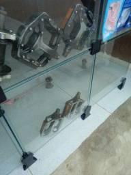Pedal de alumínio para pé de vela chaveta