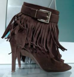 Ankle boot marrom