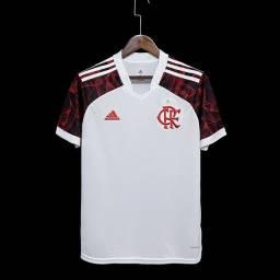 Camisa flamengo branca 2021 tamanho G