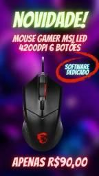 Mouse Gamer 6 Botões 4200DPI Usb