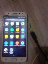 Samsung j5 prime está com a tela trincada  mas tá funcionando normal