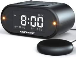 Relógio Despertador Vibração Para Surdo/def. Aud.