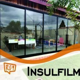Aplicação de Insulfilm e película protetora