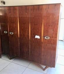 Guarda Roupas 4 portas - antigo - p restauro