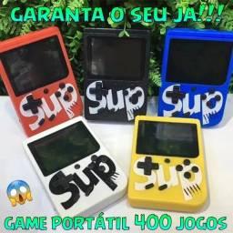 Sup Game Box Retro Clássico Super Game Mini 400 Jogos Portátil Promocao