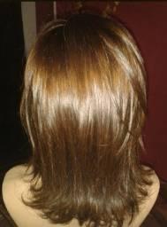 Peruca cabelo natural nova