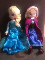 Bonecas Anna e Elsa - 40cm