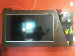 painel para tv, contém adega