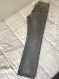 Calça Masculina Osklen Cinza Tamanho 40