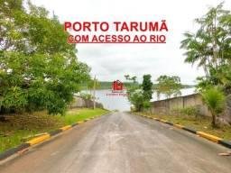 Lotes no Porto Tarumã 1.295m² Condomínio com acesso ao Rio