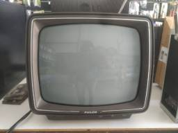 TV Antiga Philco Soft Selector Bege