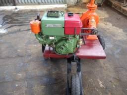 Motor bomba de puxar água a diesel