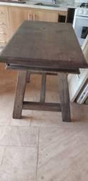 Escrivaninha madeira maciça rustica