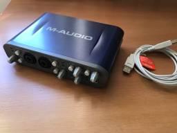 PLACA DE ÁUDIO - M-audio Track Fast Pro