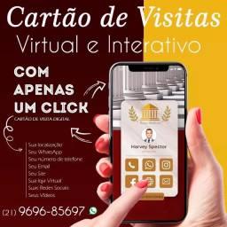 Cartão de Visitas Interativo / Digital / Link Clicável