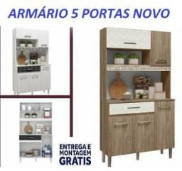 Super Promoção de Armario 5 portas Com Otimas Divisões Novo Com Frete Gratis!!