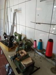 Maquinas de costura e de corte