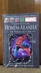 Livro NOVO: O Espetacular Homem-Aranha de Volta ao Lar