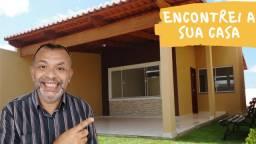 Casa Com Terreno Enorme Em Extremoz/RN (78 M²) - Pronta Pra Morar!!