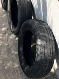 Jogo 4 pneus - VECTRA 165 / 70R14 (USADO)