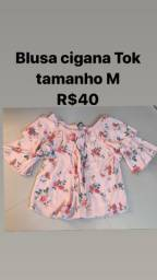 Blusa maravilhosa marca Tok tamanho M R$40