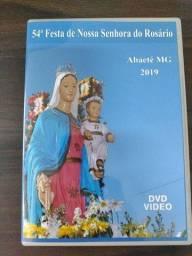 DVD Festa Nossa Senhora do Rosário em Abaeté MG