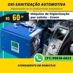 Serviço Oxi-Sanitização Automotiva