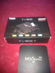 Vendo esse tv box todo novo