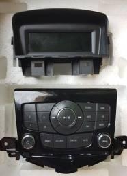 Rádio Cd Player + Display GM Cruze 2012 A 2016