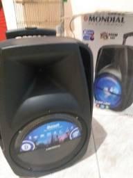 Caixa de som Mondial 400rms