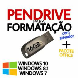 PENDRIVE FORMATAÇÃO 16GB WINDOWS 7/8.1/10